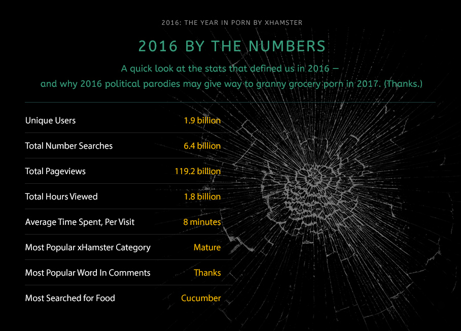 xHamster Presents  2016: The Year in Porn (Part 3)