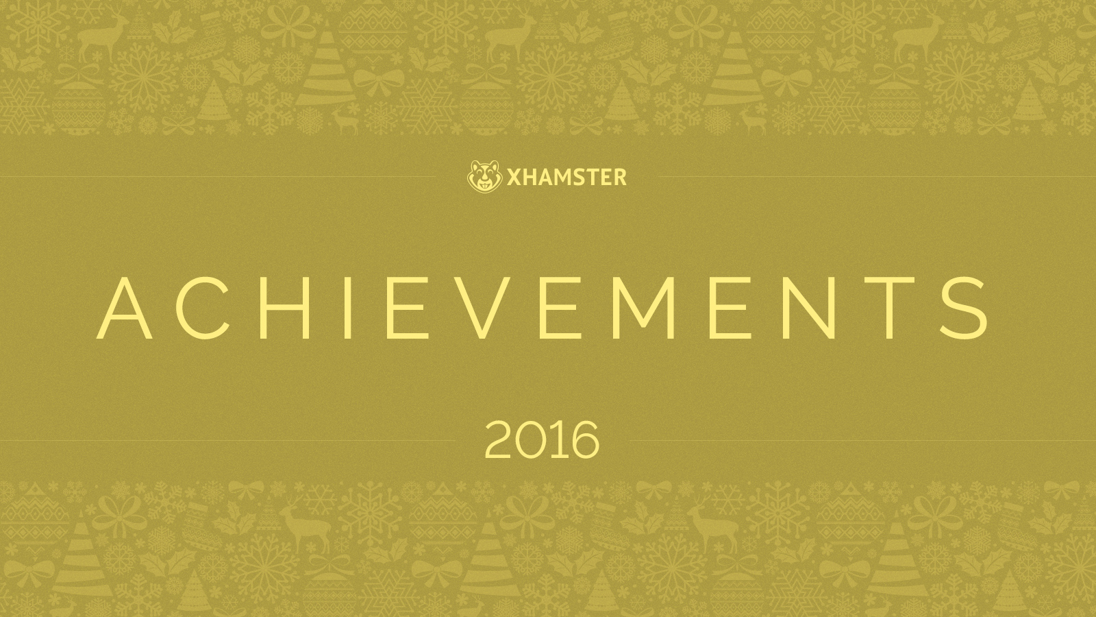 xHamster Achievements 2016!